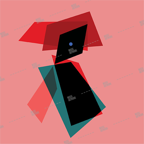 Album cover showing square shapes on pink background.