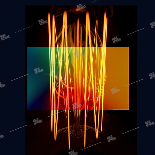 music artwork album with abstract design.