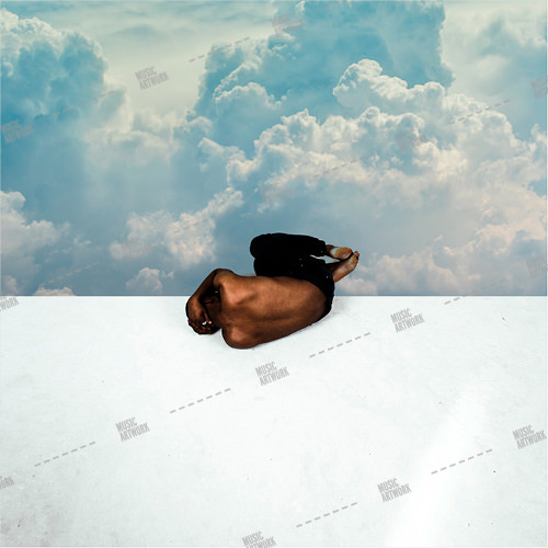 Album artwork image showing a man lying