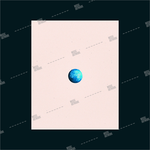 Album artwork image showing a planet