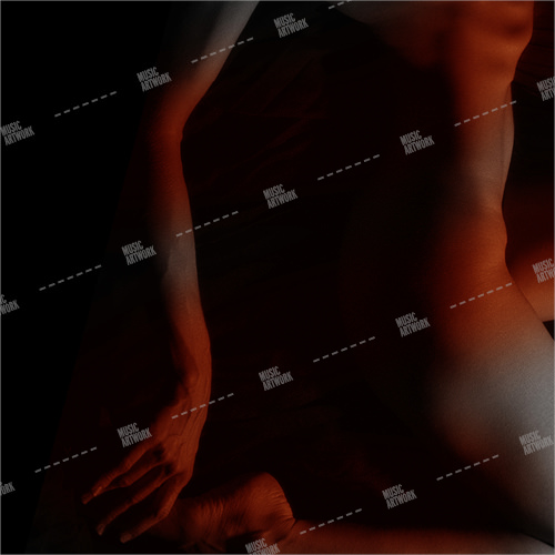 Album cover showing the naked body of a man