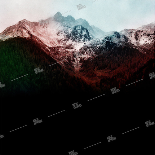 Album cover showing a mountain