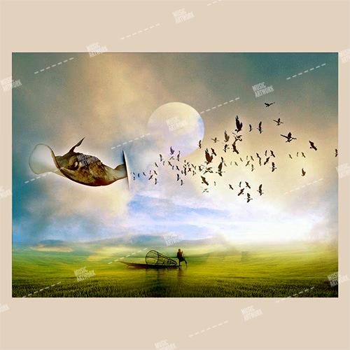 dali style fantasy album artwork