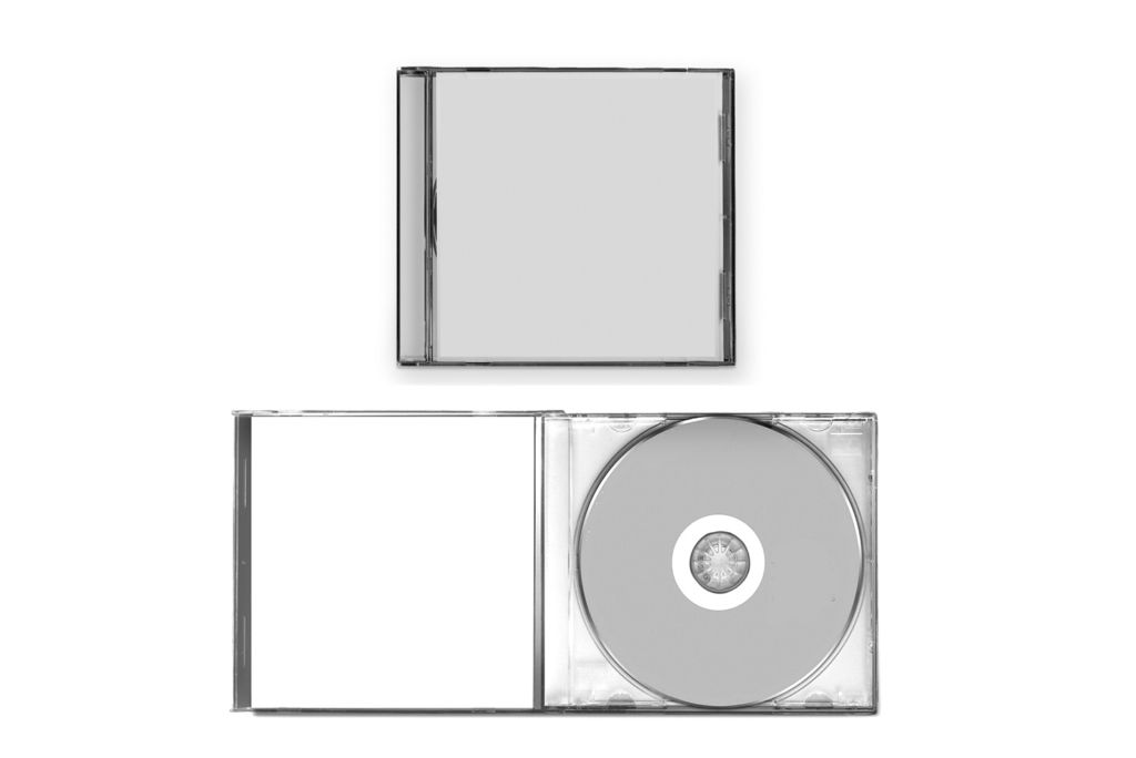 Print a simple jewel case cd package at home