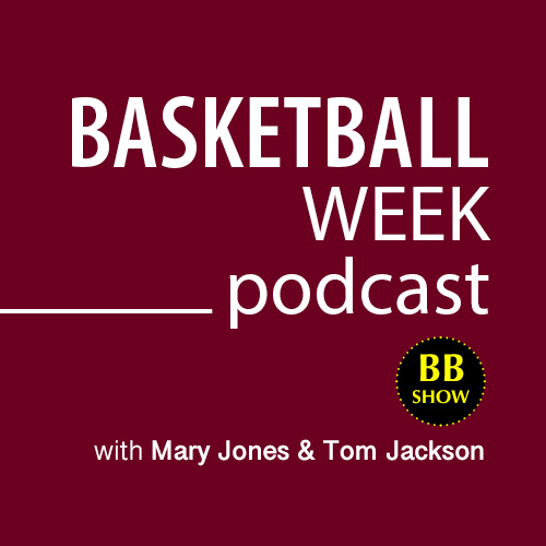 podcast cover for basketball