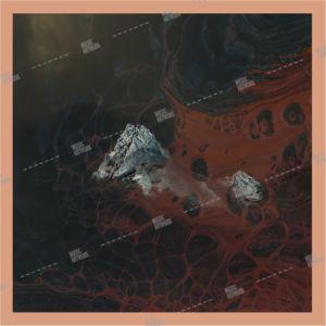 abstract dark album art