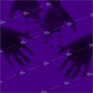 purple album art with hands