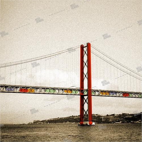 album art with bridge