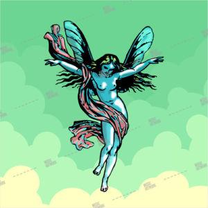 Album art with fairy
