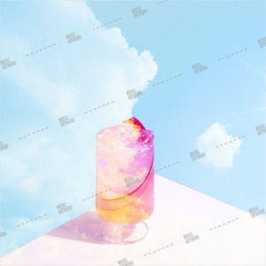album art drink, sky, glass