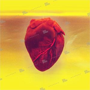 Album artwork design with heart