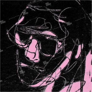 Album artwork with man