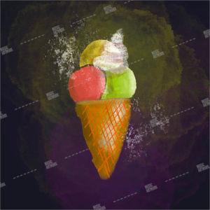ice cream artwork