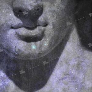 Album artwork design with Ancient Greek / roman statue