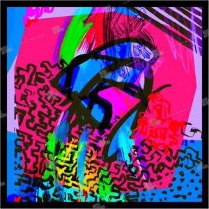 abstract album art