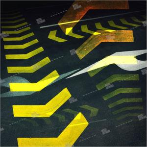 album art with road