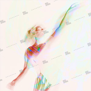 album art with dancer