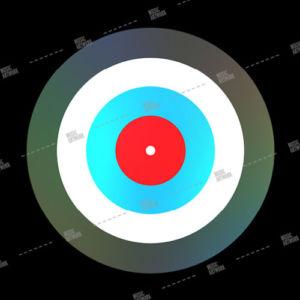 album artwork design with target