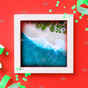 album_artwork with beach