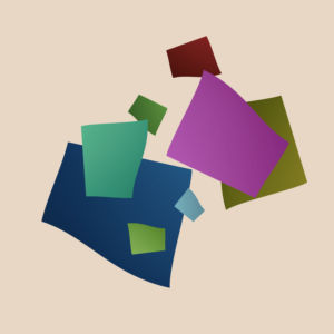 abstract square shapes