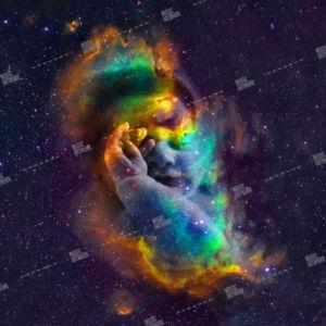 baby and stars