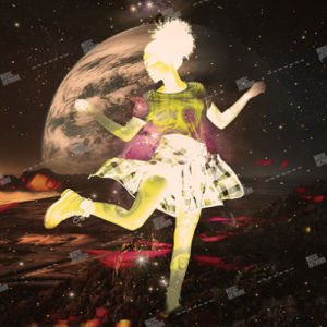dancer and moon